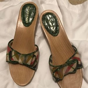 Woman's Burberry sandals size 38